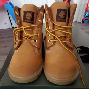Authentic Like new timberlands for toddler